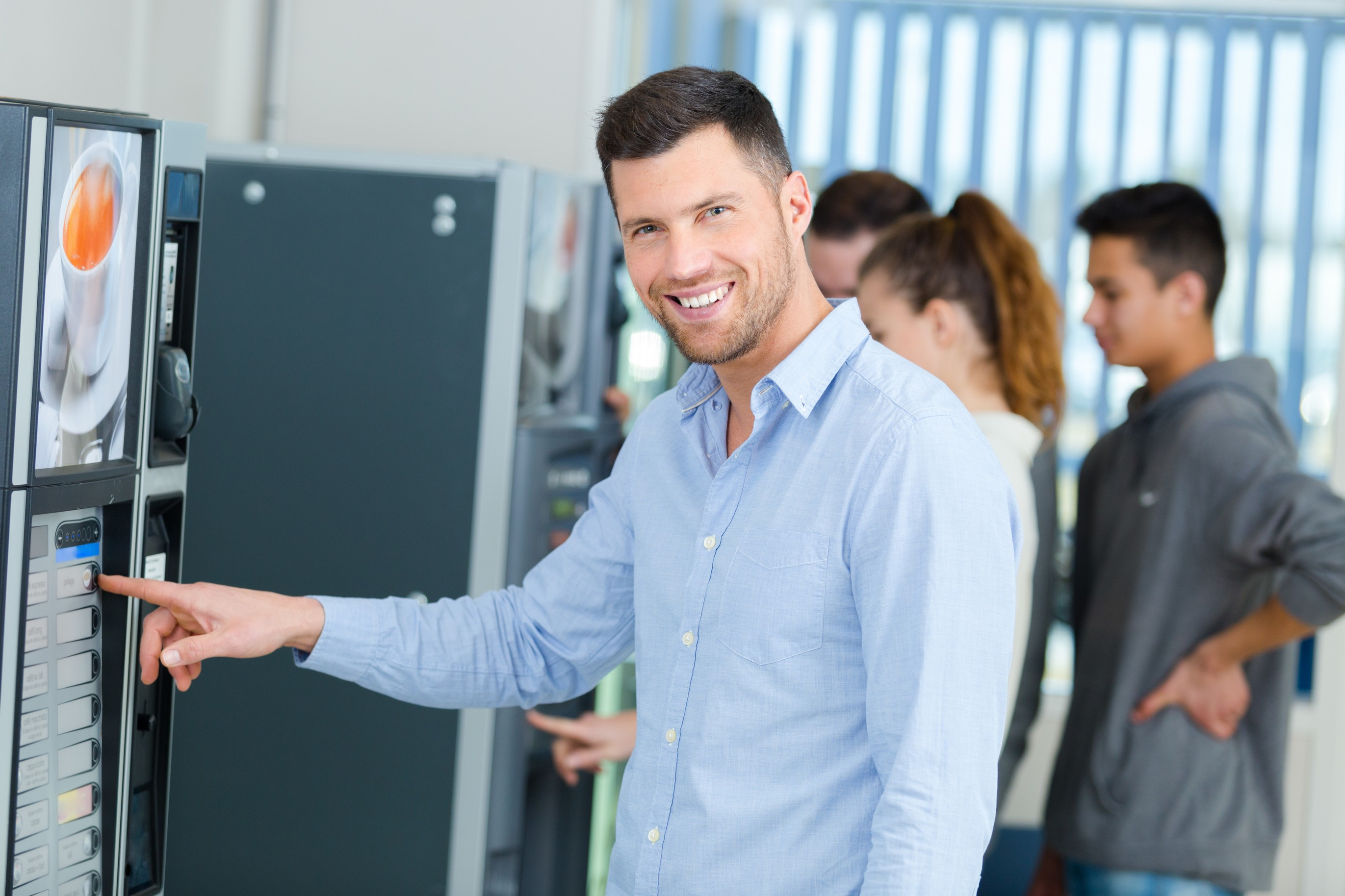 vending technology in phoenix break rooms